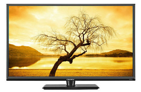 "24"" TV LED LCD CROWN 24126 12-220V"