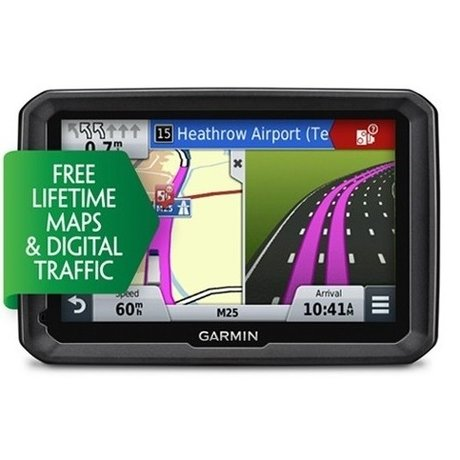 GPS НАВИГАЦИЯ ЗА КАМИОН GARMIN DEZL 570LMT EU, LIFETIME MAPS, BLUETOOTH, ТРАФИК, 5 ИНЧА