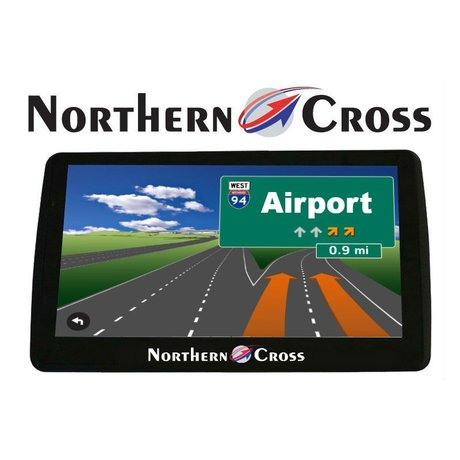 GPS НАВИГАЦИЯ NORTHERN CROSS NC-712S EU