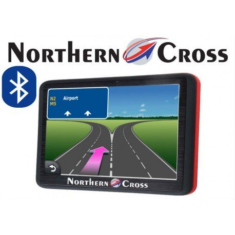 GPS НАВИГАЦИЯ NORTHERN CROSS NC-512S BT AV IN EU