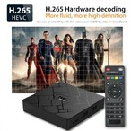Android Мултимедиен плеър HK1, 4K, Android 8.1, RK3229 Quad Core, DDR3 2GB, 16GB, Wifi