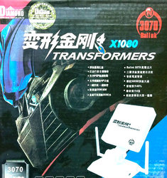 МОЩНА WI-FI АНТЕНА С 3 АНТЕНИ DIAMOND TRANSFORMERS X1080