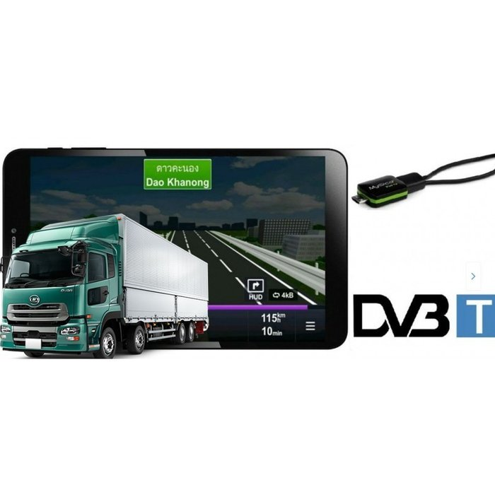 ТАБЛЕТ DIVA QC-803GN С ТВ ТУНЕР, 2 ПРОГРАМИ, 8 ИНЧА, ANDROID, WI-FI, BLUETOOTH