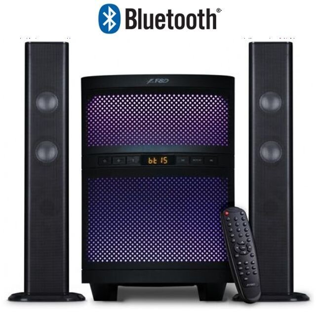 Тонколони FENDA T-200X 2.1, Bluetooth, 70W USB, SD, MP3, Радио